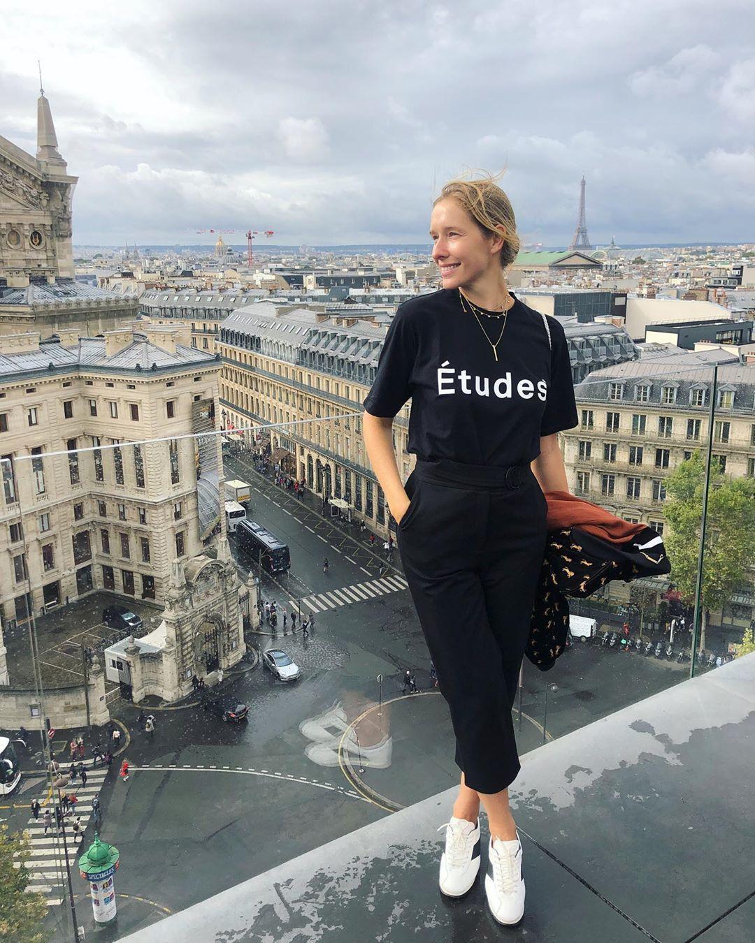 Стильная Осадчая в Париже