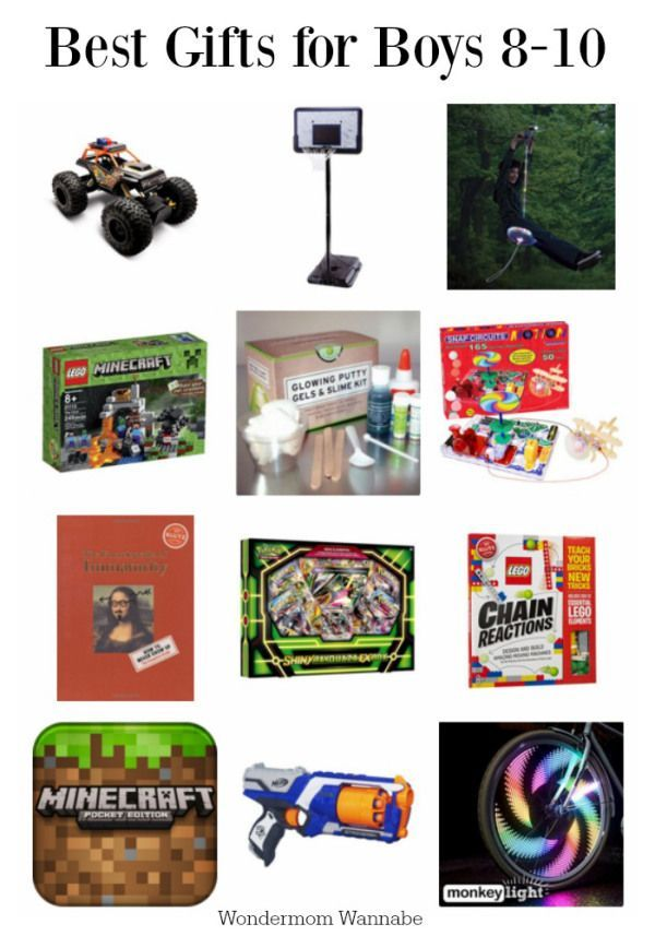 Best Gifts for 8 to 10-Year Old Boys   Best gifts for boys, Christmas gifts for boys, 8 year old ...