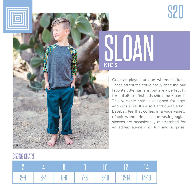 Kids Lularoe Sloan Top Size Chart Including 2018 Updated Pricing Lularoeretailer