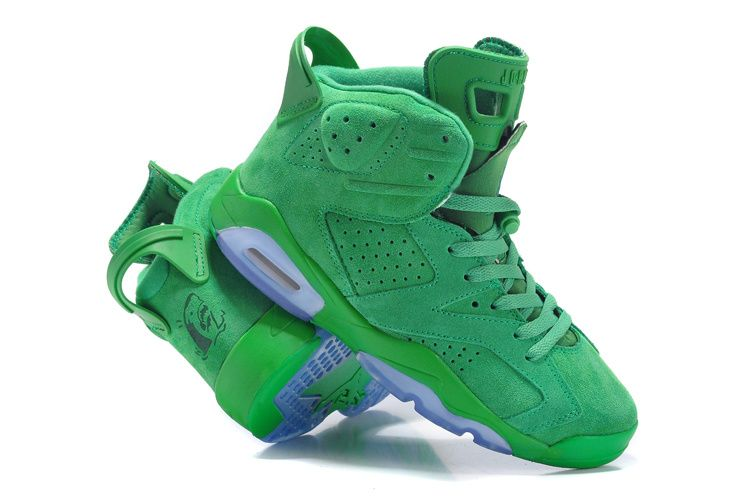 4eee5536129cb5 Jordan 6 green suede