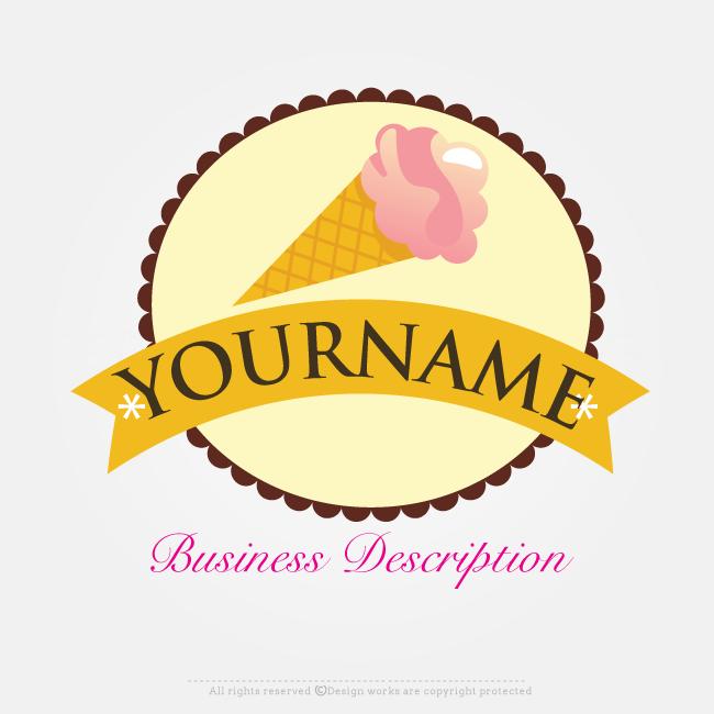 Free Logo Creator Online Ice Cream Logo Design Free Logo Creator Ice Cream Logo Logo Design Free Templates