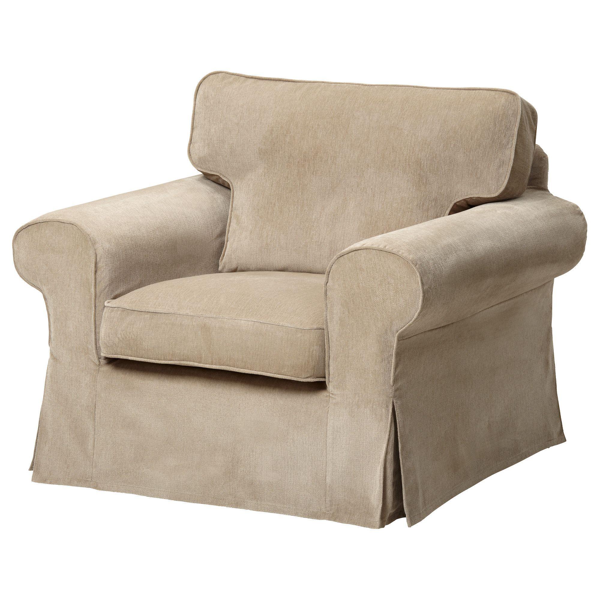 EKTORP Chair Norlida white beige IKEA household