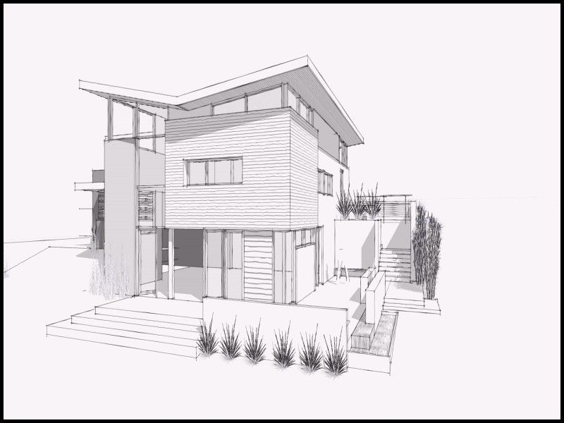 Beautiful Drawings Of Houses In Pencil House Sketch Dream House