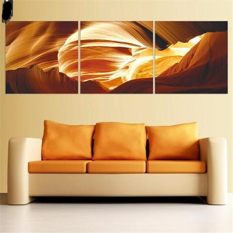 3 Piece Set Modern Abstract Wall Art Canvas Oil Painting | Painting ...