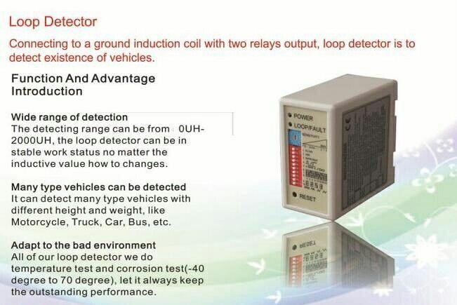 Loop Detector Single Loop Detector Dual Loop Detector More