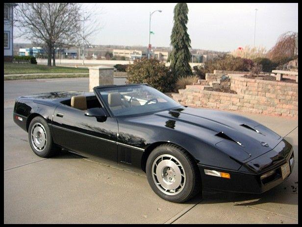 1987 Chevrolet Corvette Callaway Convertible Chevrolet Corvette Old Corvette Corvette