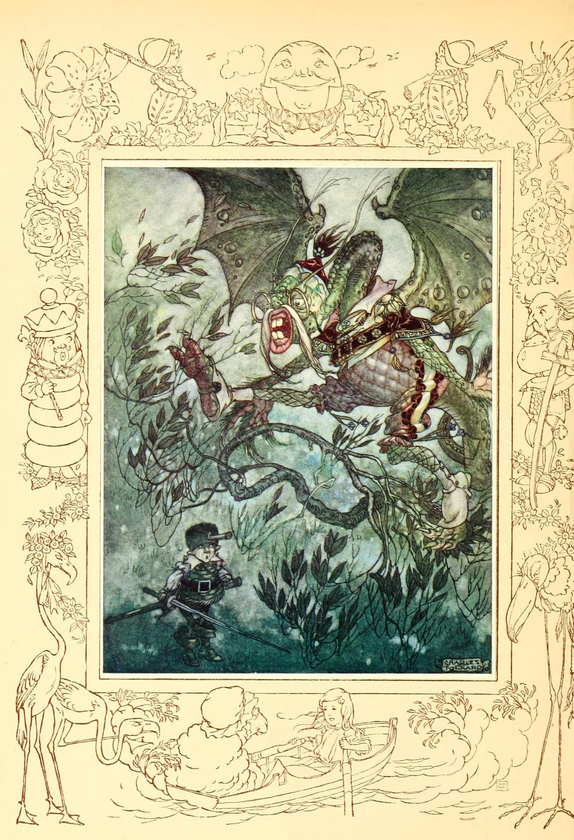 Jabberwocky - Songs from Alice in Wonderland and Through the Looking-Glass by Lewis Carroll, 1921