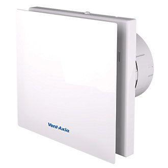 Vent Axia Vasf100t 4 3 6 8w Silent Axial Bathroom Timer Extractor Fan