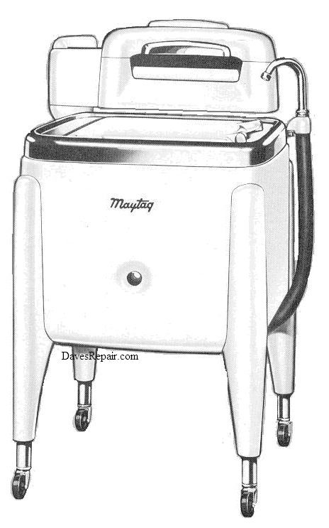 Maytag E2 Wringer Washer Parts Manual Wringer Washer Vintage Laundry Wringer