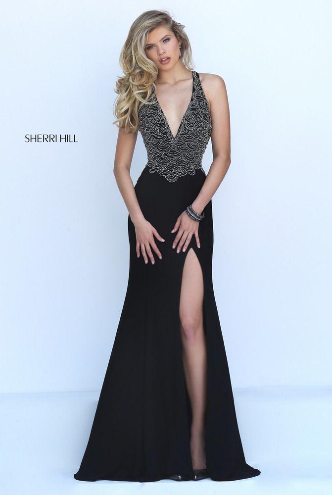 SHERRI HILL 50215 Prom Dress Couture fa64421a9d6a