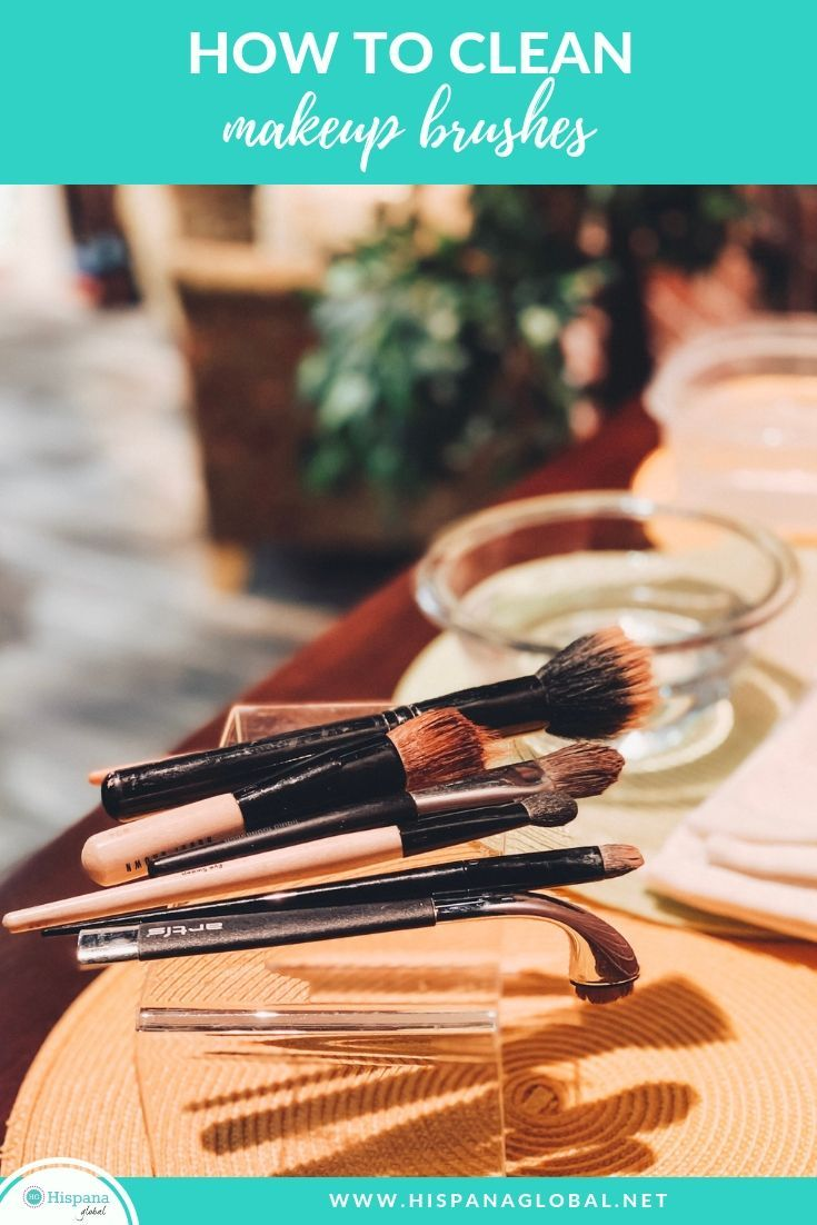How and when to clean makeup brushes