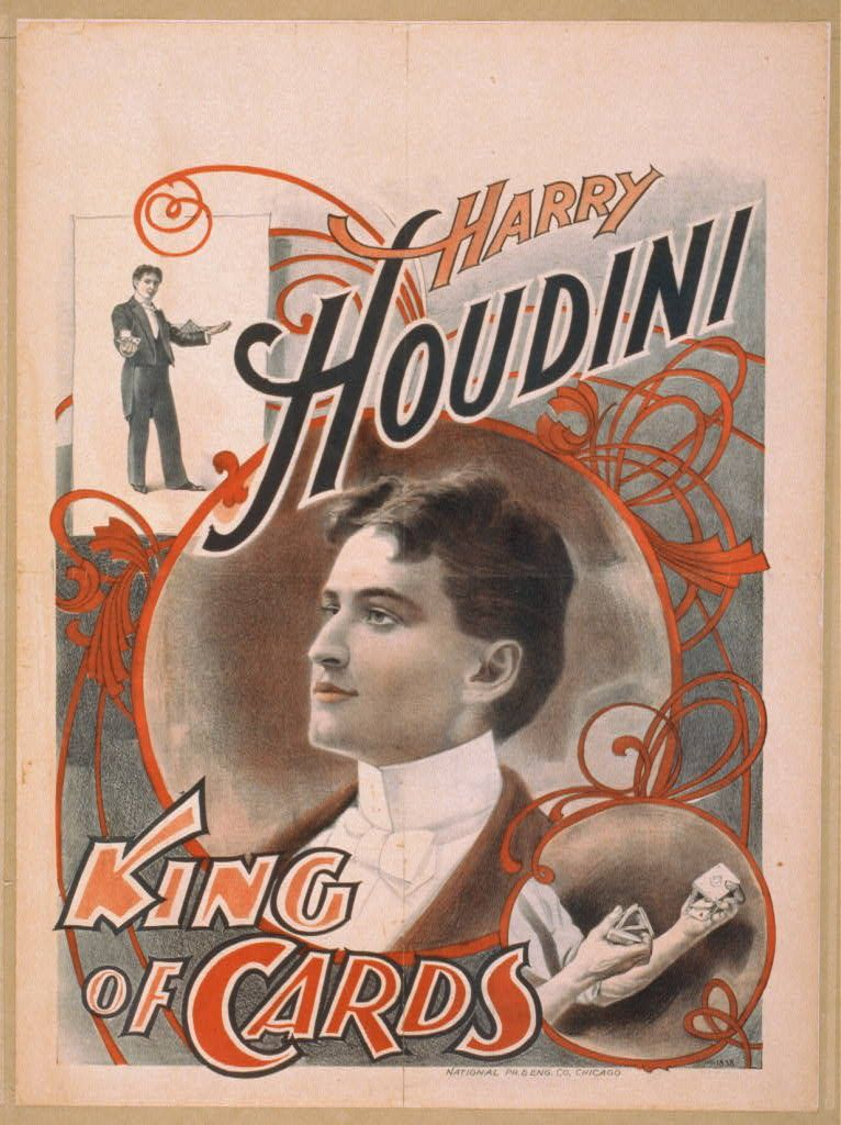 Houdini, before the escapologist in him came out.