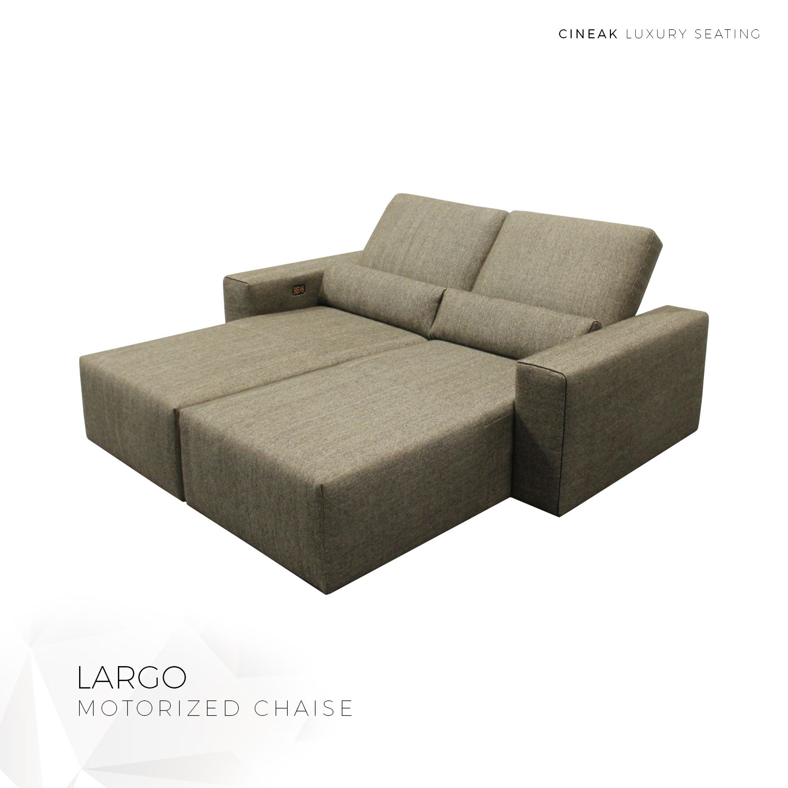 Motorized Chaise Cinema Seats Seating Theatre Room