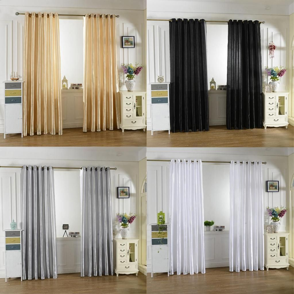 gbp grommet top window curtains thermal blackout blinds door