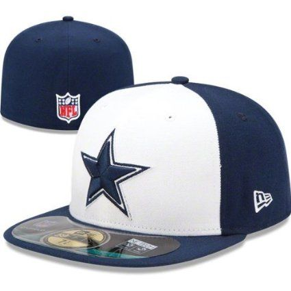 Amazon.com  Men s New Era Dallas Cowboys 59Fifty Sideline Fitted Hat White  Navy  SportsMagicK 644d331d8