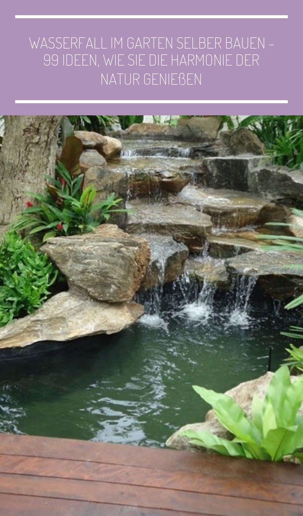 Wasserfall Im Garten Gartendeko Steine Garten Landschaftsbau Wasser Wasserfall Im Garten Selber Bauen 99 Ideen Wie Sie Die Harmonie Der Natur Geniessen