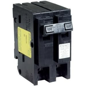 100 Amp 2 Pole For Adding 100 Amp Sub Panel In Basement Electrical Breakers Circuit Breakers