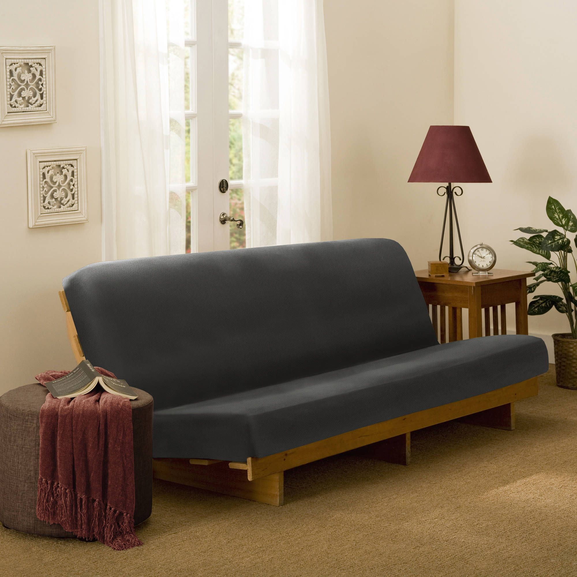 Maytex 1 Piece Stretch Pixel Futon Cover