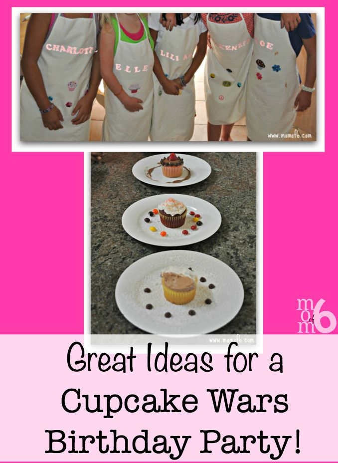 How to Throw a Cupcake Wars Birthday Party Birthdays and Birthday