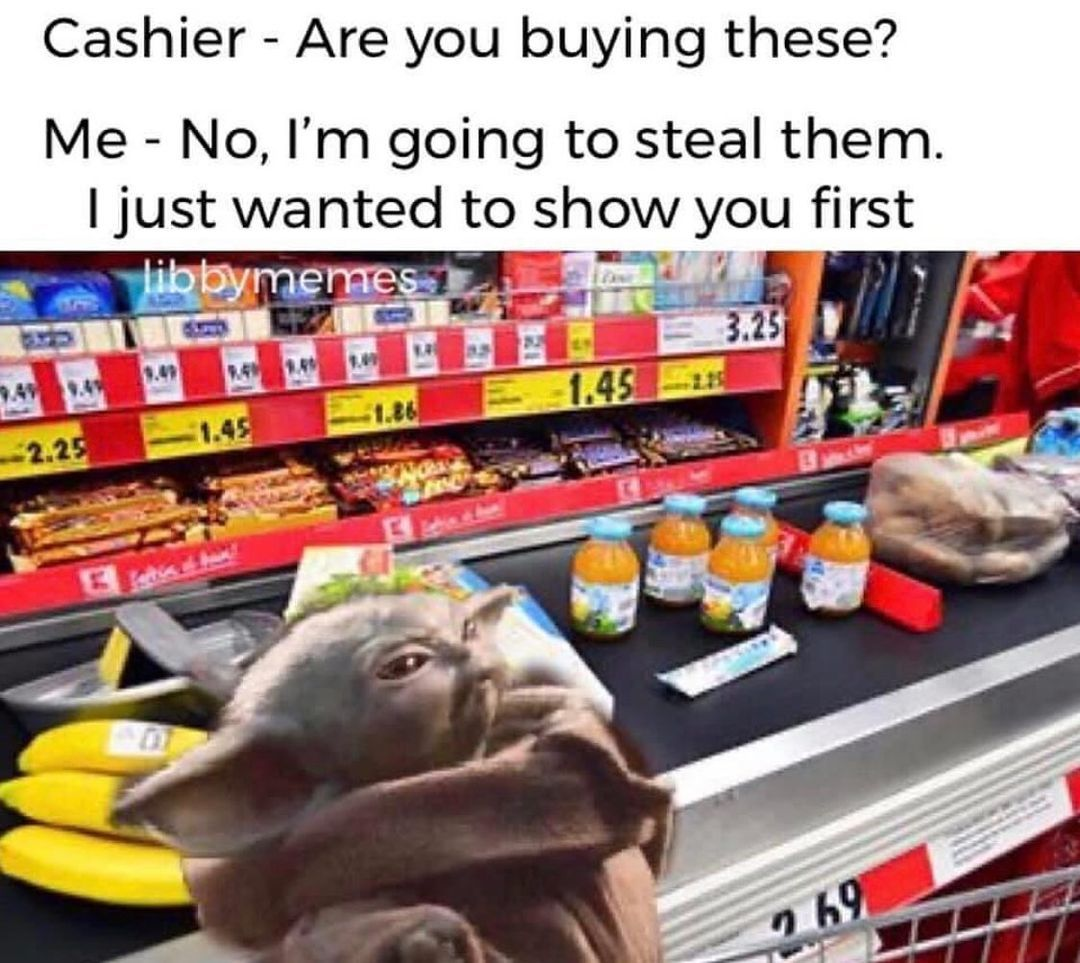 Baby Yoda Grogu Yoda Funny Yoda Meme Yoda