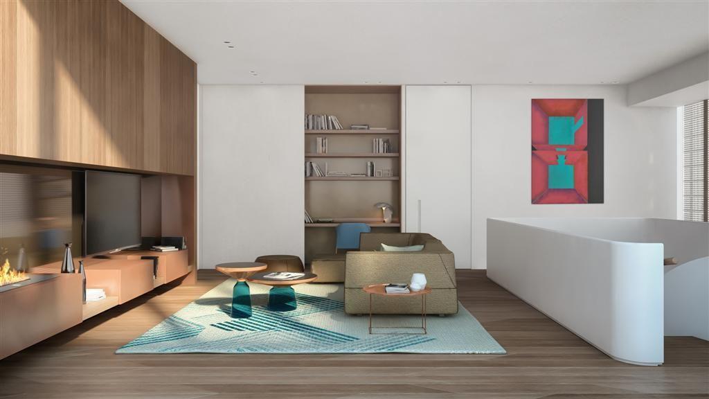 Patricia urquiola designs the rothschild summit penthouse at richard meiers meier on rothschild