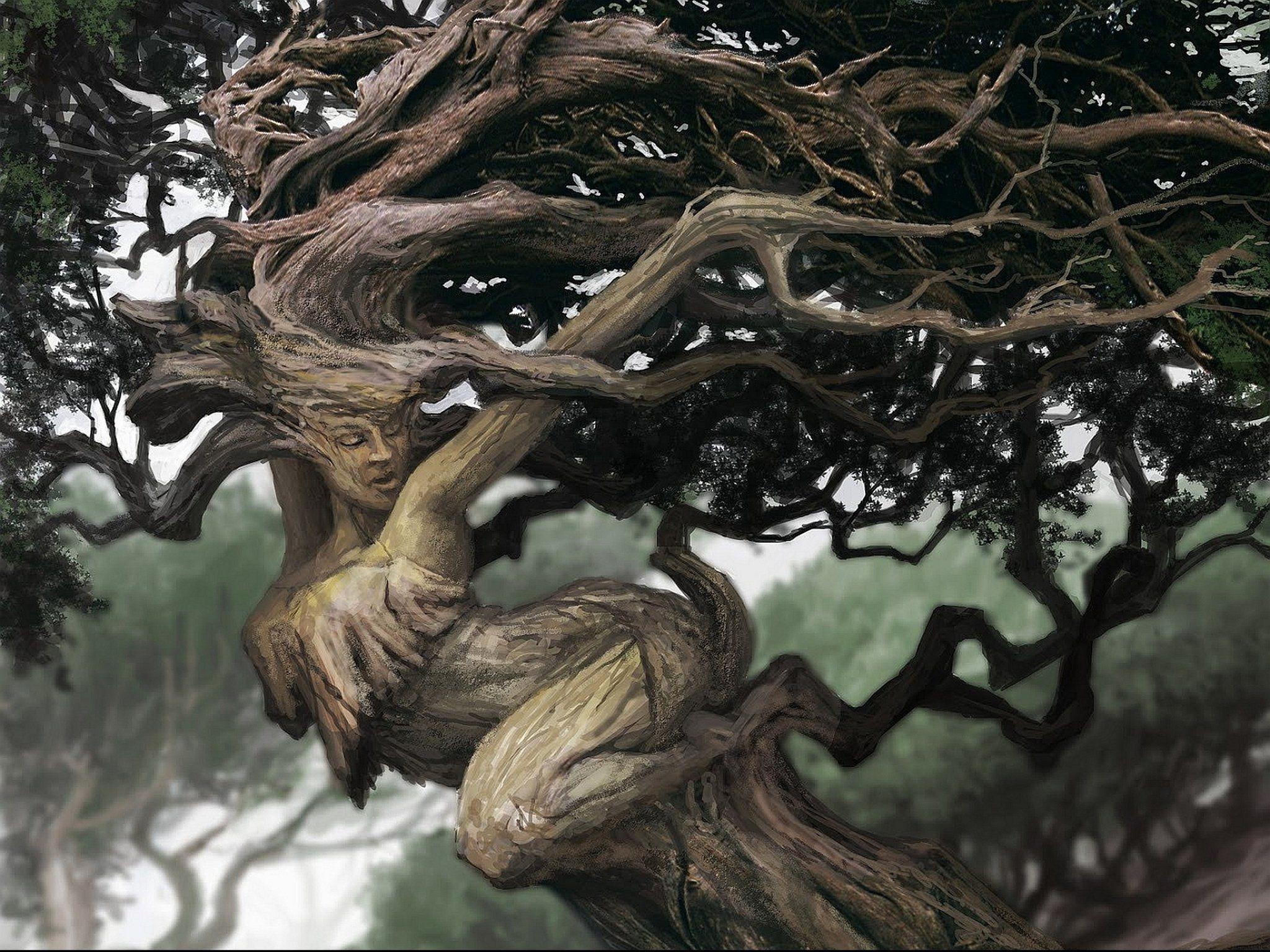 Мифические деревья картинки