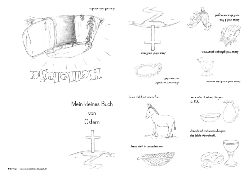 Seite 1 Von 1 Religionsunterricht Ostern Kindergarten Ostern