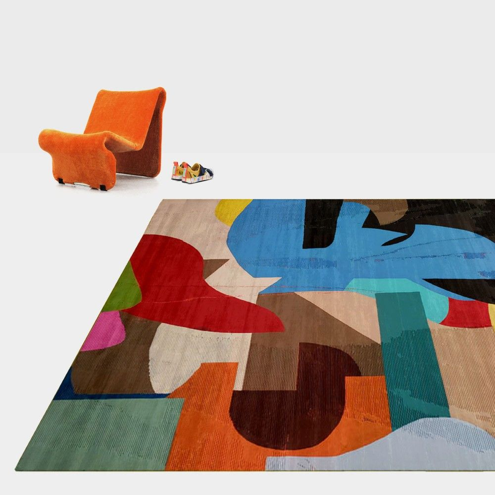 Handmade Art Carpets By Henzel Studio Check Out Newly Added Rugs And Missoni Home Pieces Just Added To The Site Rugs Contemporary Rugs Henzel Studio