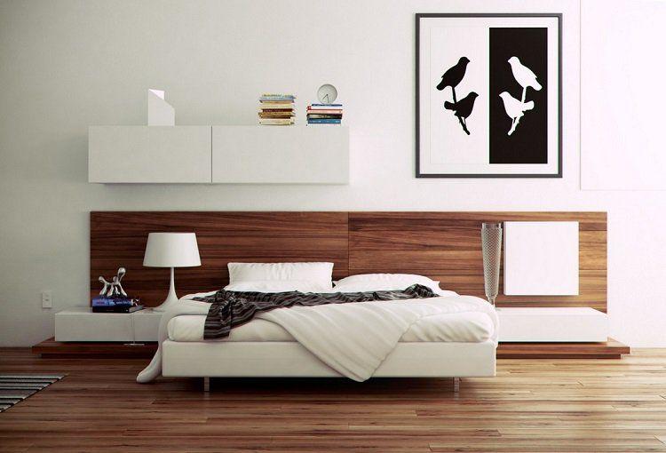 100 idées pour le design de la chambre à coucher moderne | Bedrooms ...