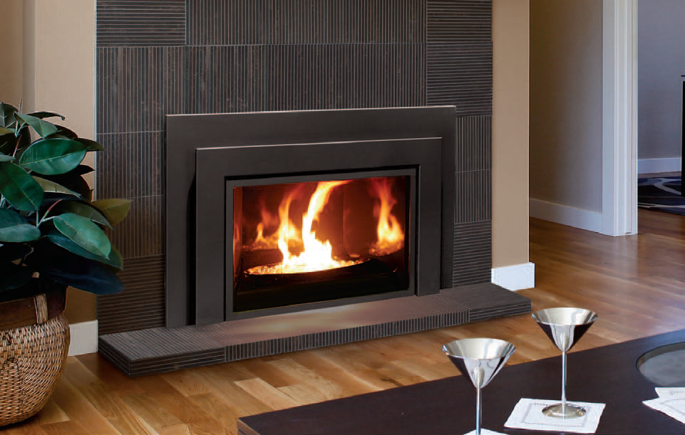The Enviro E-Series - our fireplace insert.