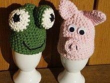Eierwärmer Schwein Und Frosch Häkelanleitung Frosch Pinterest