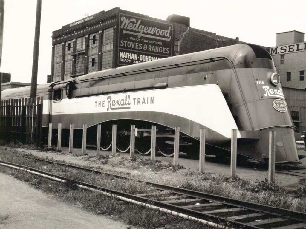 The Rexall Train was a promotional 12-car streamlined and air-conditioned train owned by the United Drug Company (1936).