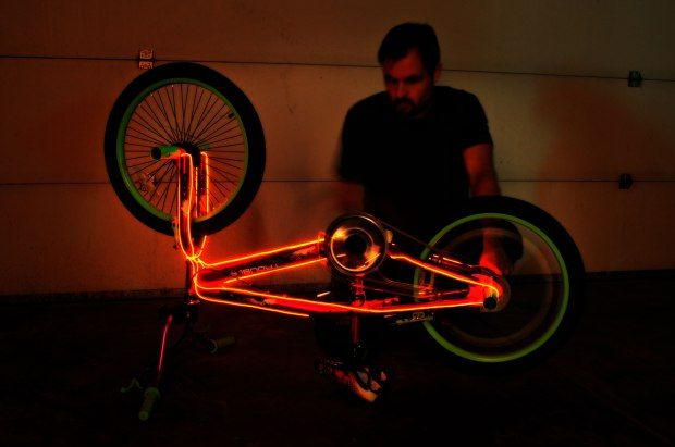 El Cycle Projects Bicycle Lights How To Make