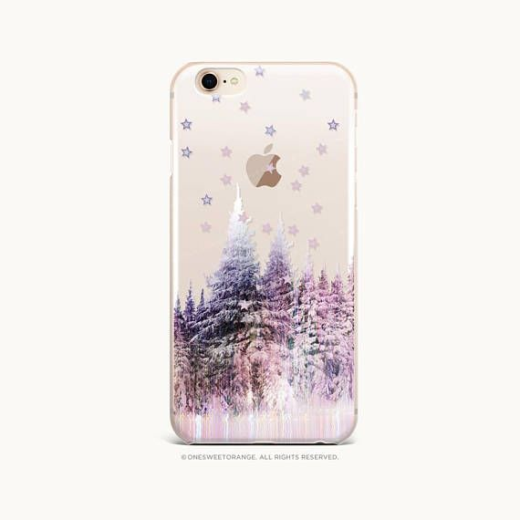 Christmas Iphone X Case.Iphone Xs Case Christmas Forest Clear Rubber Iphone Xs Max
