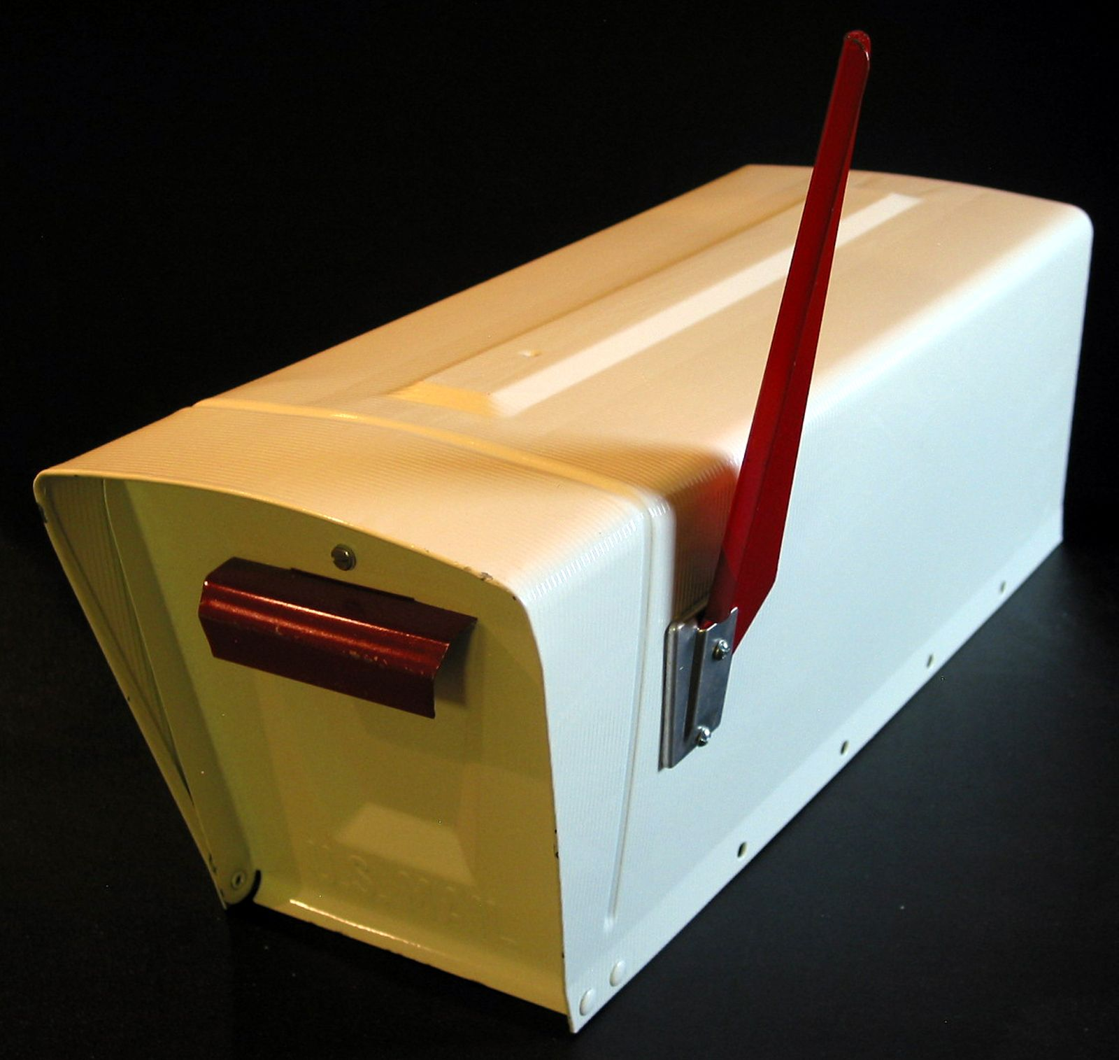 Our NOS vintage Streamliner mailbox I won on Ebay | home | Pinterest ...