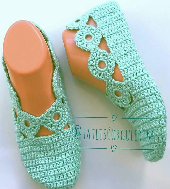 Pin de Cynthia Carter en Get a Hobby | Pinterest | Zapatos tejidos ...
