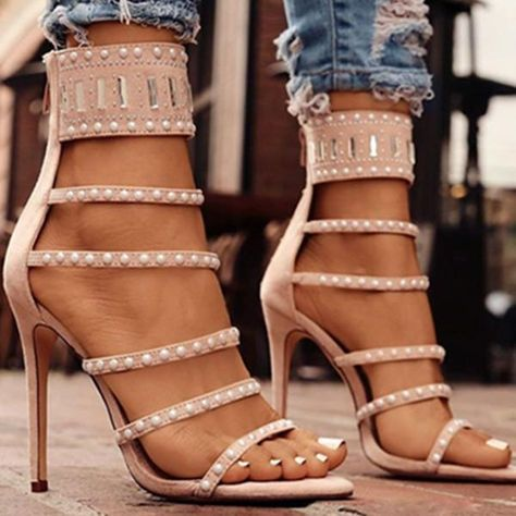 b8002bc8cc0 High heels chunky heels prom booys cute unique vintage comfortable strappy  low designer shoes casual heels Chellysun heels  heels  shoes  cute   highheels ...