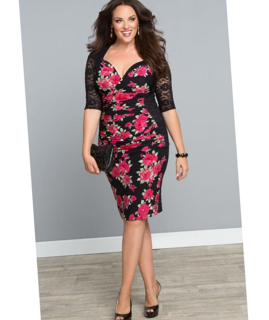 Pin by Plus size on plus size woman dress | Pinterest | Woman, Curvy ...