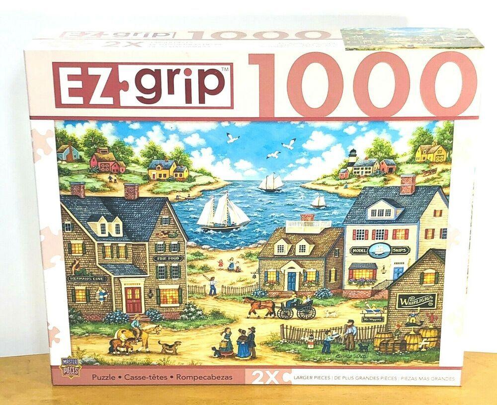 Bonnie White EZ Grip Puzzle 1000 Pc Mr Wiggins Whirligigs
