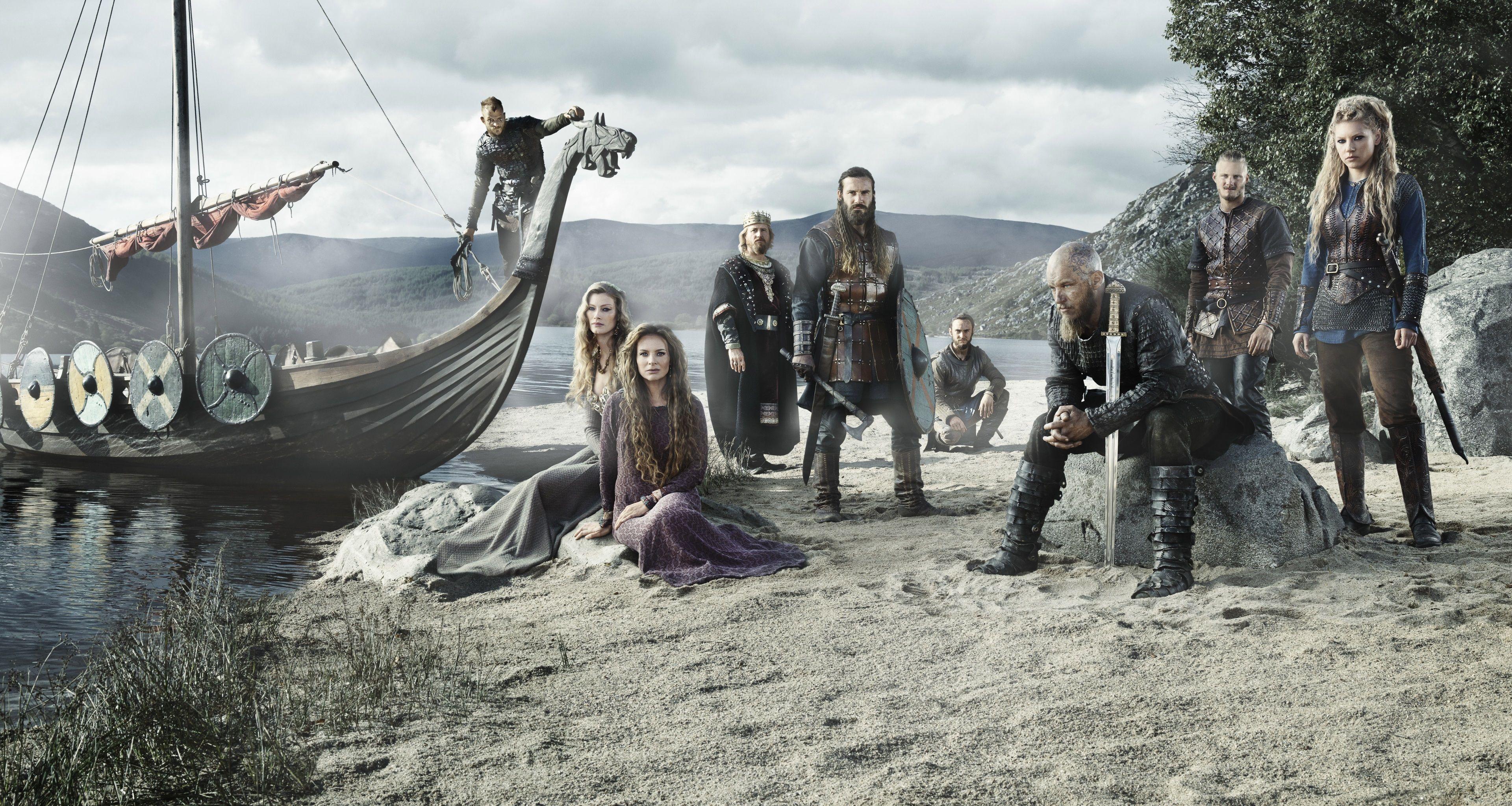 3840x2047 Vikings 4k Best Of The Best Wallpaper Vikings Temporadas Vikings Personagens