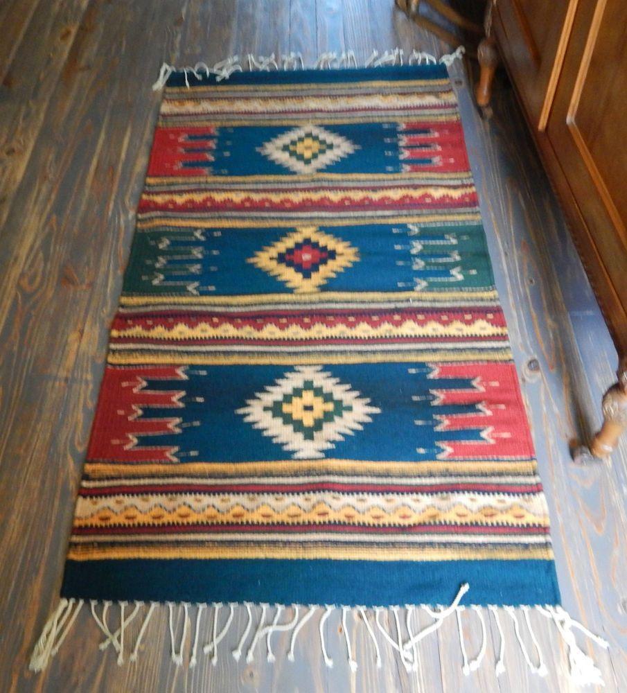 Zapotec Indian Weaving Floino