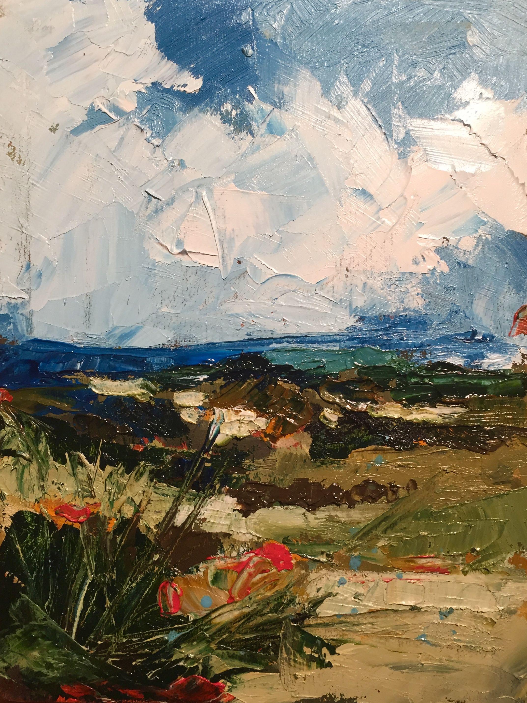 Landscape Painting 2018 Oil On Canvas 18x24 Cm Landscape Paintings Oil Canvas Art Handmade Colors Artist P Landscape Paintings Painting Ocean Painting