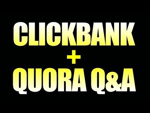 How To Promote Clickbank Products Without A Website With Free Traffic - Clickbank + Quora Method - http://getfreewebsitetraffic.com/how-to-get-free-website-traffic/how-to-promote-clickbank-products-without-a-website-with-free-traffic-clickbank-quora-method/