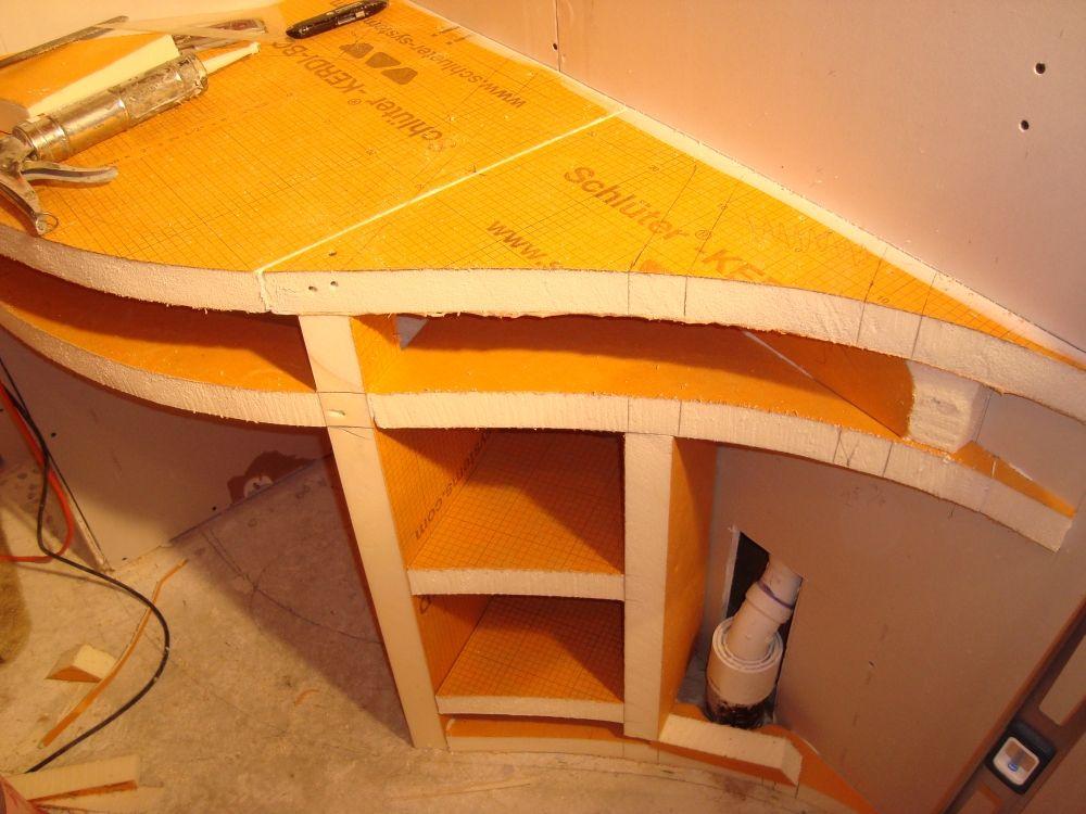 foam backer boards for tile had been