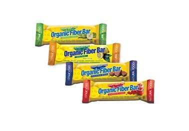 Organic Fiber Bar - 50% percent of your daily fiber in one ...
