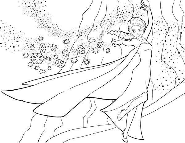 coloriage gratuit reine des neiges ancenscp - Coloriages Gratuit