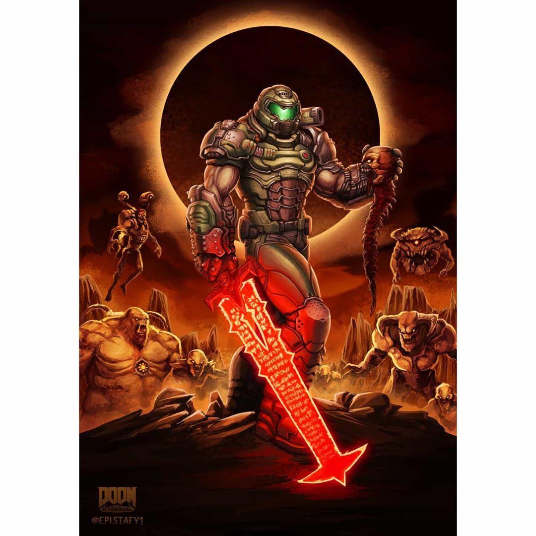 Doom Community On Instagram Amazing Art By U Epistafy On Reddit