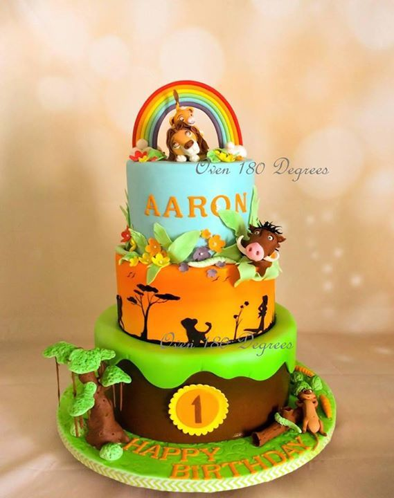 Lion King Cake With Images Lion King Birthday Lion King