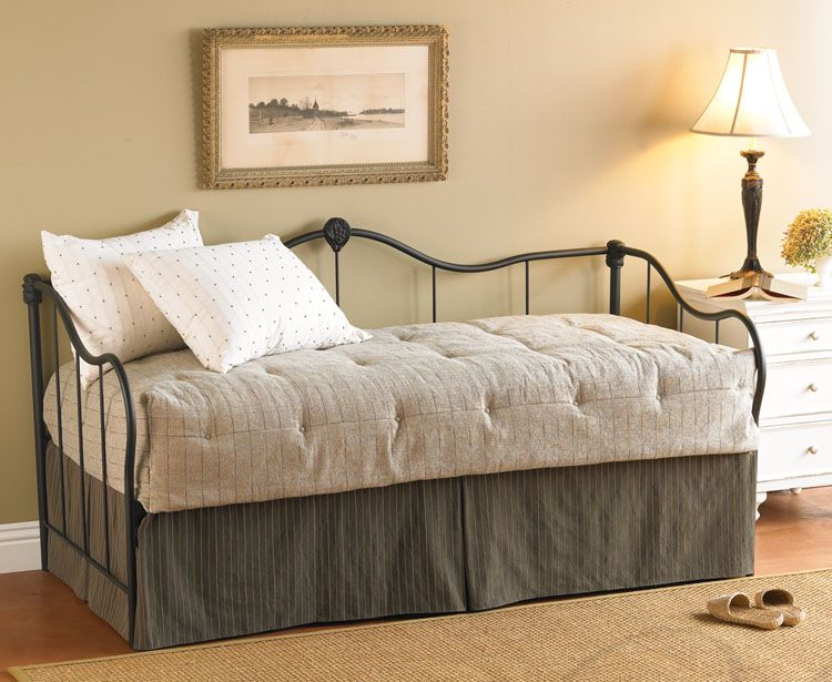 Wesley Allen Ambiance Daybed on sale at Fine Iron Beds  432 I really like how theyve paired