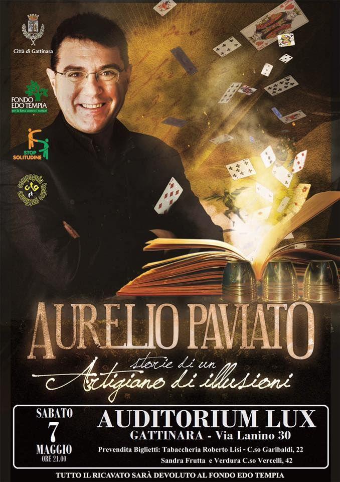 TuttoPerTutti: TuttoPerTutti: AURELIO PAVIATO Storie di un Artigiano di Illusion... http://tucc-per-tucc.blogspot.com/2016/04/aurelio-paviato-storie-di-un-artigiano.html?spref=tw